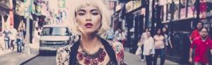 Meki Saldana, Filipina model and actress trail blazes in New York.