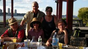 An awesome afternoon with NYC writers of the NWU which has lined up year-long activities to boot.