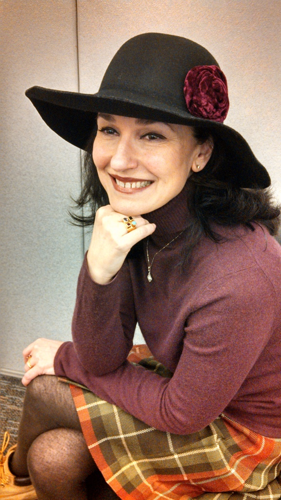 Tiziana Rinaldi, host and creator of Life in the New World, a TV talk show on at the Bronx TV.